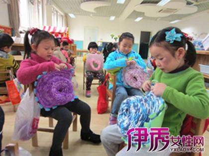 【幼儿园区域游戏之编织区】【图】幼儿园区域游戏之