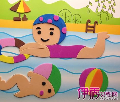 【图】欣赏儿童创意手工贴画 分享手贴画的教学方案图片
