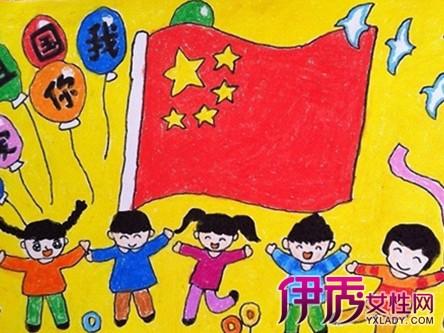 【图】爱国儿童画作品欣赏 培养孩子们的爱国精神