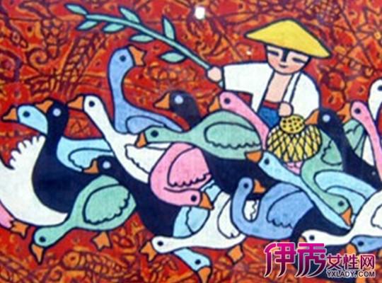 【图】民族风儿童画图片欣赏 详解如何让孩子学会画画图片