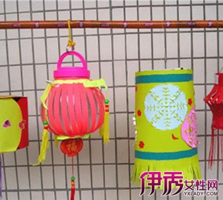 【儿童手工灯笼制作方法图片步骤】【图】儿童手工