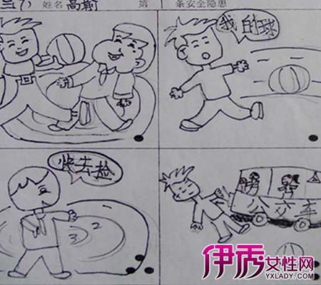 【儿童连环画简笔画】【图】欣赏儿童连环画简笔画