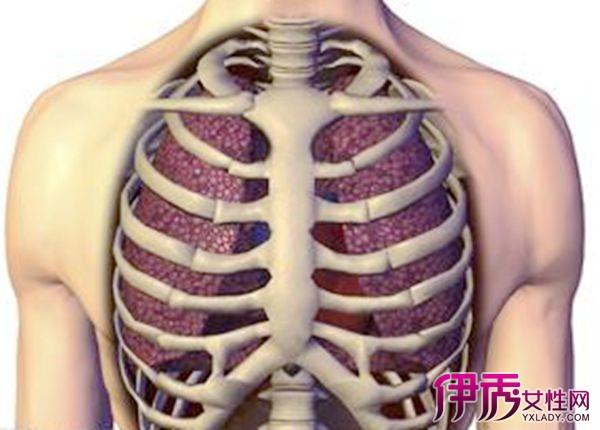 右边胸部下方肋骨疼是怎么回事 与肝胆关系很大图片