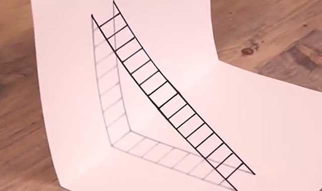 立体画教程|立体画怎么画|立体画入门|