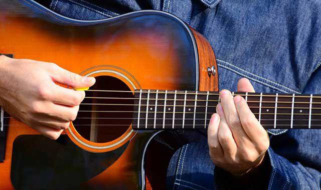 左手吉他手法教程|吉他教程|吉他手法|